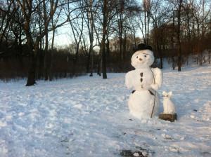 Schneegemälde