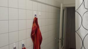 Handtücher an Haken trocknen so schlecht...
