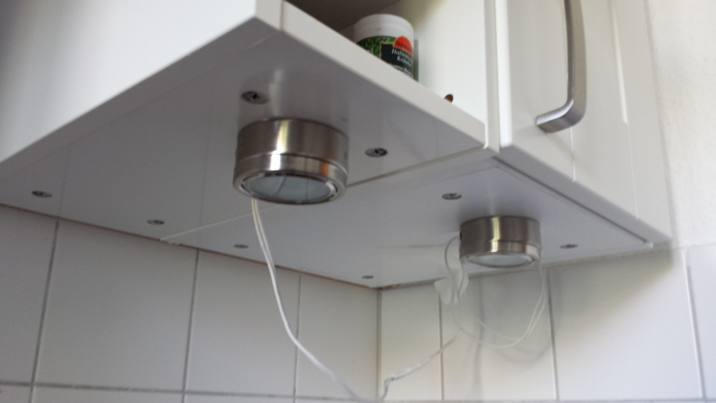 Rechte Küchenseite - vorher