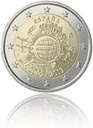 10 Jahre Euro-Bargeld (Spanien)