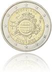 10 Jahre Euro-Bargeld (Niederlande)